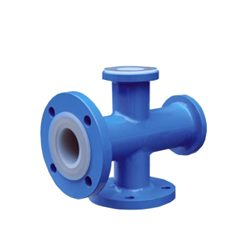 PTFE Lined Pipe Fittings for Gas Oil