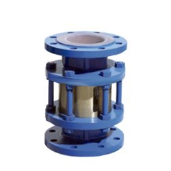 PTFE lined Sight Glass for oil pipeline